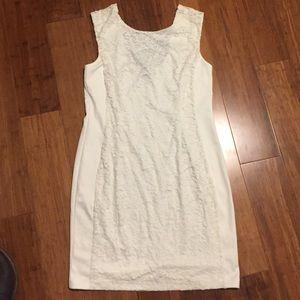 NWT Apt 9 Off White Lace Dress